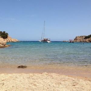 Cala Brigantina spiaggia dell'isola di Caprera