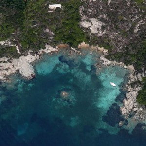 Cala Levante (Isola di Santo Stefano)