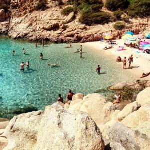 Spiaggia Cala Coticcio (Isola di Caprera)