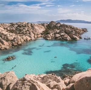 Spiaggia di Cala Coticcio (Sardegna)