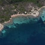 Spiaggia di Forte La Torre (Isola di Santo Stefano)