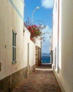 Strada a mare (Calasetta)