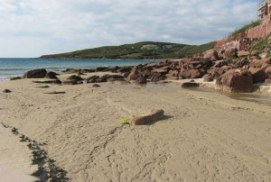 Cala dello Spalmatore (Isola di San Pietro)
