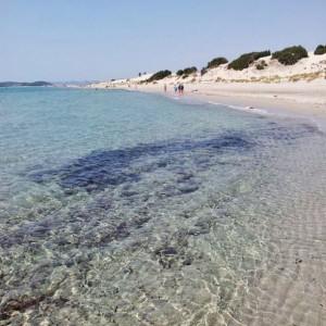 Porto Pino la seconda spiaggia