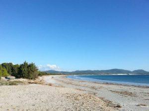 Seconda spiaggia a Porto Pino