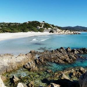 Spiaggia Porto Giunco lato Nord