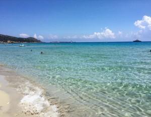Spiaggia Villasimius (Sardegna)