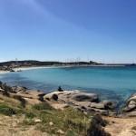 Spiaggia del Riso e il Porto