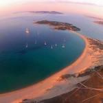 Spiaggia dell'Isola dei Gabbiani (Porto Pollo)