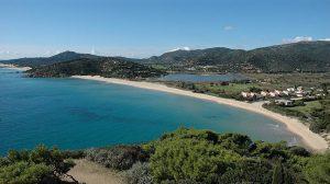 Spiaggia di Chia e Monte Cogoni
