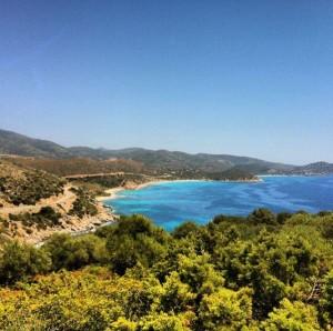 Spiaggia di Is Canaleddus (Sardegna)