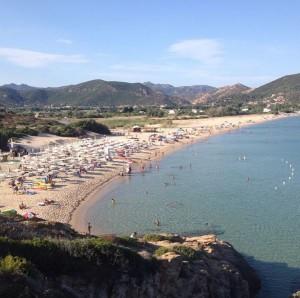 Spiaggia di Monte Cogoni (Chia)