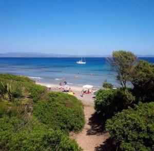 Spiaggia Coaquaddus Sant'Antioco