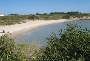 Spiaggia La Bobba (Isola di San Pietro)