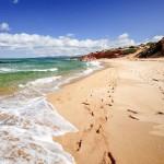 Spiaggia Scivu lato Sud