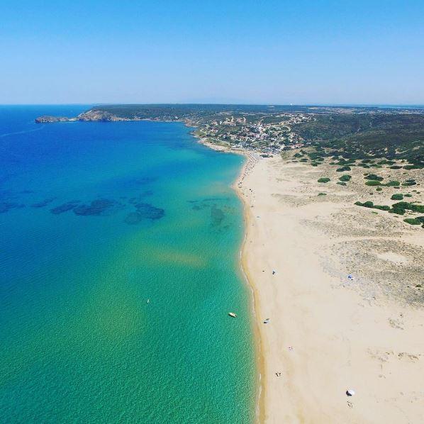 Spiaggia torre dei corsari o sabbie d 39 oro my sardinia - Torre specchia spiaggia ...
