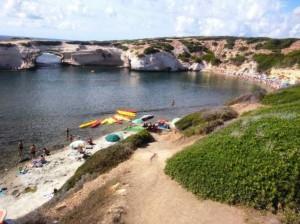 Spiaggia dell'Arco a S'Archittu