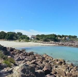Spiaggia di Punta Nera (Isola di San Pietro)
