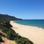 Spiaggia di Scivu lato Sud