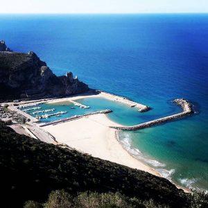 Spiaggia e porto di Buggerru