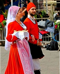 Costume sardo di Sassari