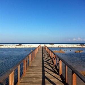 Il Ponte per Spiaggia Le Saline (Stintino)