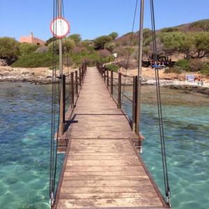 Pontile di Cala Reale (Isola Asinara)