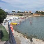 Spiaggia Punta Negra a Fertilia