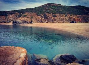 Spiaggia dell'Argentiera