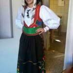 Costume femminile Samugheo