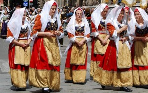 Costume sardo (Cagliari)