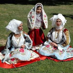 Costume sardo Osilo