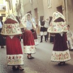 Costume sardo a Villanova Monteleone