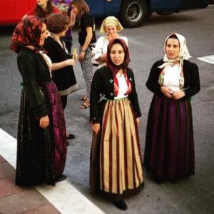 Costume sardo di Florinas