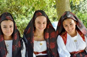 Costume sardo di Sarule