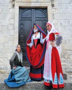 Costume sardo di Usini