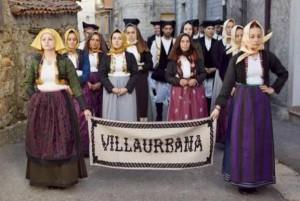 Costume sardo di Villaurbana