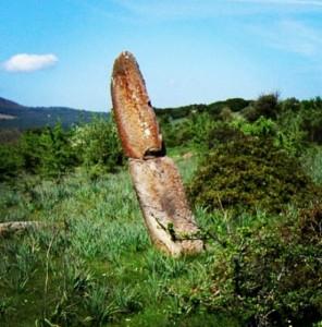 Menhir di Corte Noa (Laconi)