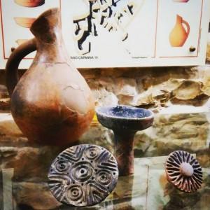 Sa Pintadera rinvenuta nel villaggio nuragico di Gennai Maria
