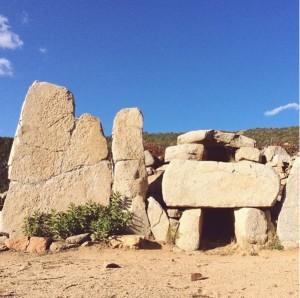 Tomba dei Giganti di Osono in Triei