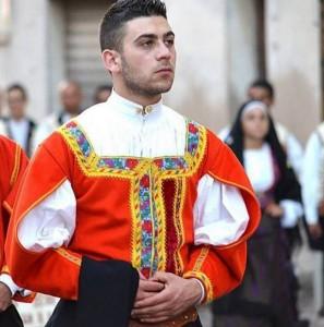 Costume maschile di Desulo