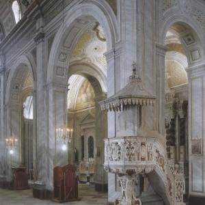 Interno Basilica Sant'Elena Imperatrice
