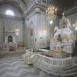 Interno Basilica di Sant'Elena Imperatrice
