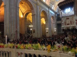 Interno della Basilica di Sant'Elena Imperatrice