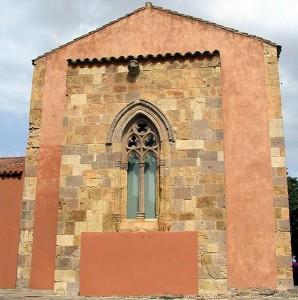 Retro della Chiesa di San Gregorio (Sardara)