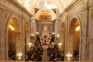 Vista della Basilica di Sant'Elena Imperatrice