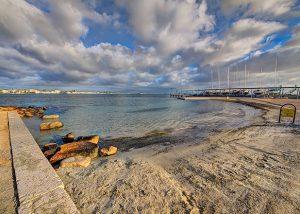 Spiaggia di Marina Piccola (Cagliari)
