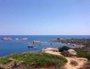 Cala Is Cascias (Isola dei Cavoli)