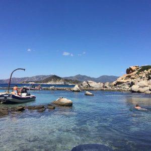 La Cala di Ponente (Isola dei Cavoli)