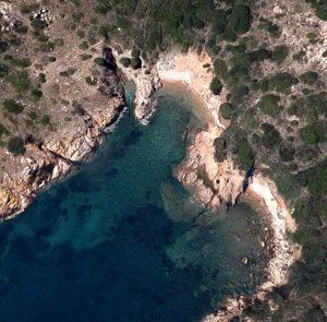 Cala di Levante (Isola di Mortorio)